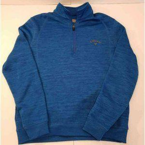 Callaway Men's Golf Sweatshirt Jacket Blue Small